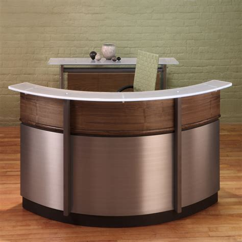 white curved reception desk metal desks with drawers white curved reception desk