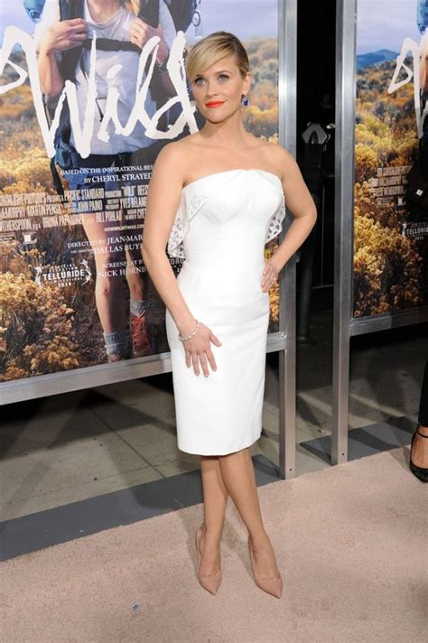 How To Replace Carpet by Reese Witherspoon Is Glowing In White As She Hits The Red