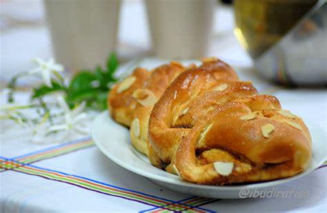 coffee twist bread makanan resep roti
