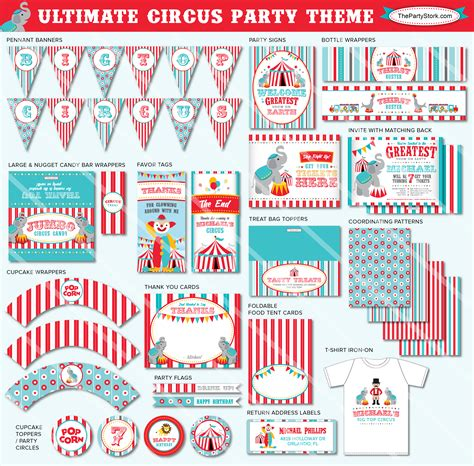 free printable circus party decorations free circus birthday printables www pixshark com