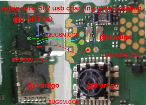 Sony D2005 Onoff nokia asha 502 usb charging problem solution jumper ways