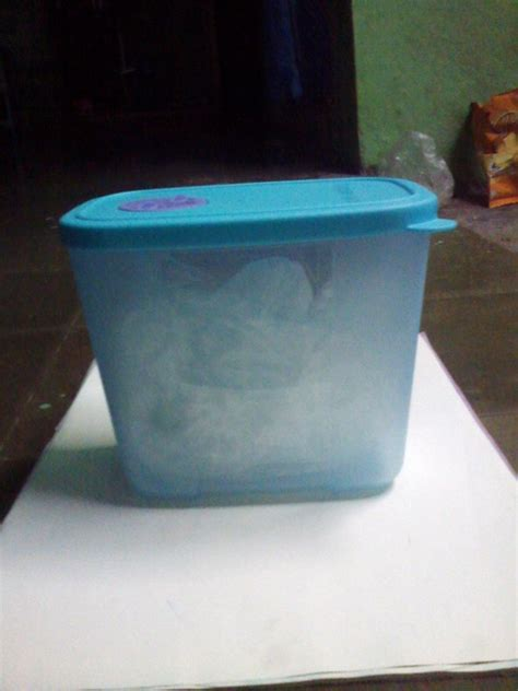 Tupperware Pocket Freezermate With Khusus Freezer New Pocket Freezermate With Tupperware Blue Tosca Color Kitchenware On Storenvy
