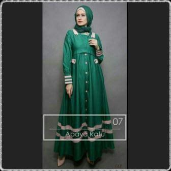 Gamis Balloteli Bunga Silang Murah Dan Bahan Tebal baju muslim wanita anggun bahan balotelli
