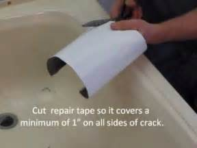 How To Fix Cracked Bathtub Repairing A Cracked Bathtub Or Shower Youtube