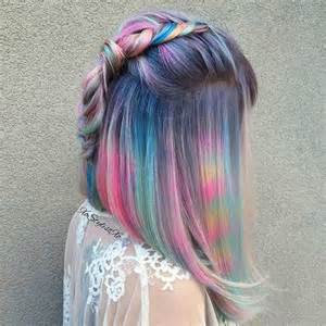 Awesome pastel hair color combinations best hair color trends 2017