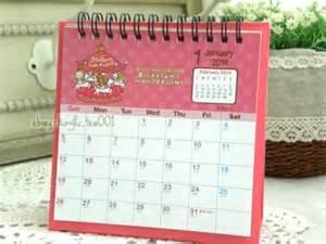 Small Desk Calendar 2014 2014 San X Rilakkuma Relax 10th Anv Small Desktop