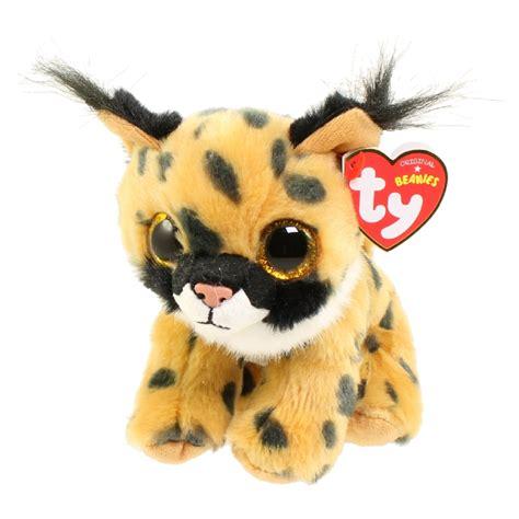 ty beanie baby larry  lynx   bbtoystorecom