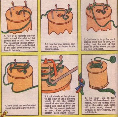 how to end a knit french knitting instructions learning spool knitting
