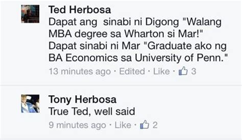 Doing An Mba Right After Undergrad by Incontrovertible Proof Mar Roxas Is A Wharton Undergrad