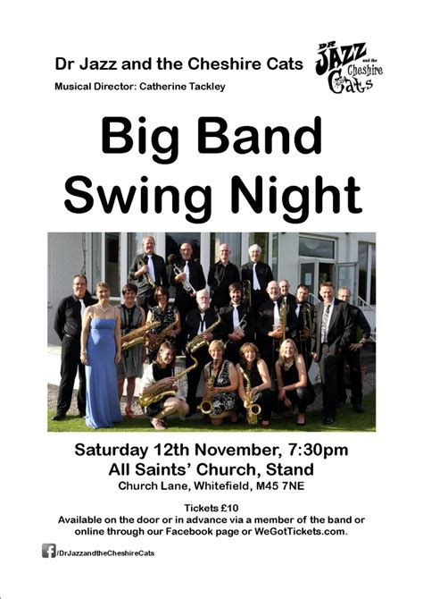 big band swing jazz big band swing dr jazz and the cheshire cats big band