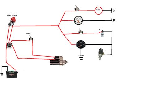engine test stand wiring diagram engine test stand starter