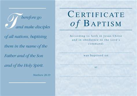 c1179ct adult baptism certificate envelope general