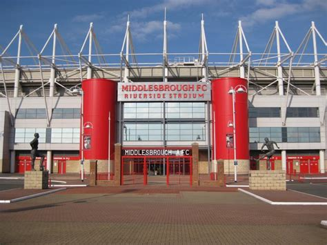 riverside stadium middlesbrough  stadium guide