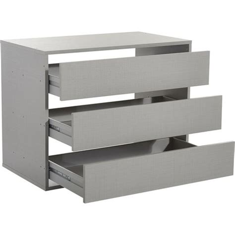 commode 80 cm largeur commode 3 tiroirs pour dressing largeur 87 cm 3suisses