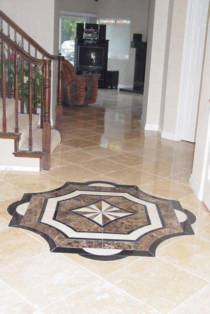 Mosaic Bathroom Floor Tile Ideas Ceramic Marble Or Travertine Floor Medallions So Pretty