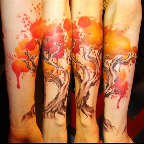 paint splatter tattoo gorgeous paint splatter tree tattoos paint