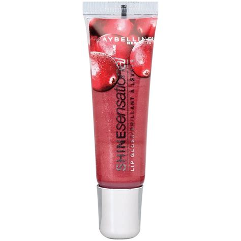 Maybelline Lip Gloss maybelline shinesensational lip gloss in cranberry crave