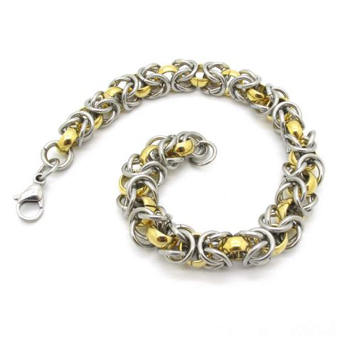 Handmade Gold Chains - newest design mens solid gold silver made chain