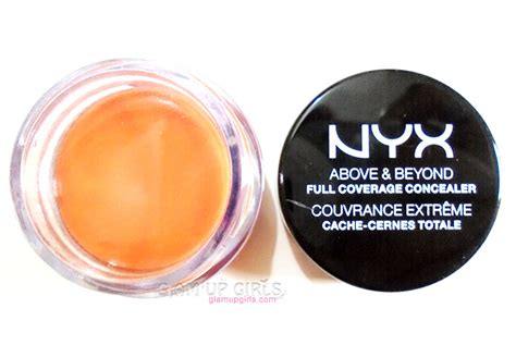 nyx concealer in a jar orange and yellow review nyx full coverage concealer jar in orange review and