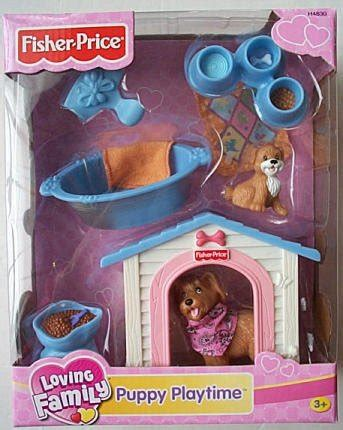 Fisher Price Puppy Play Loving Family New Time