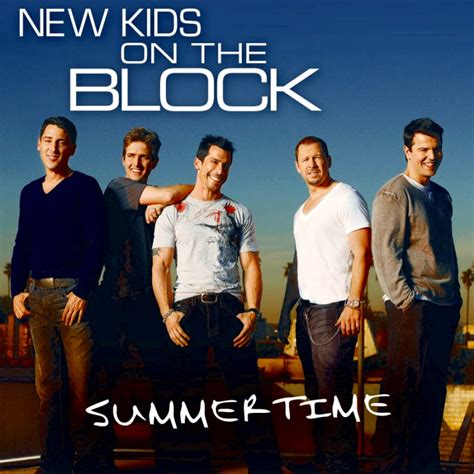 new year song summer kid new on the block s cover for new single summertime