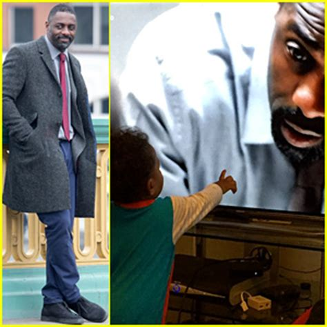 idris elba with his father winston elba during the opening idris elba shares cute photo of baby son winston watching