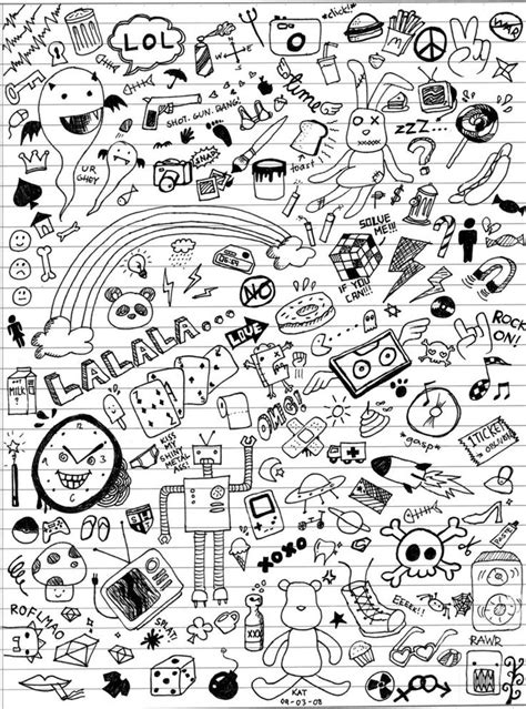 doodle ideas for school 25 best ideas about random doodles on