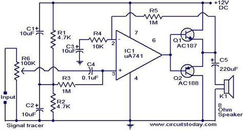 signal tracer circuit electronic circuits and diagrams