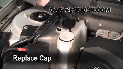 how to add coolant: chevrolet impala (2006 2016) 2008