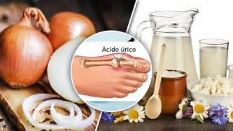 alimentos  bajar el acido urico rapidamente  naturales