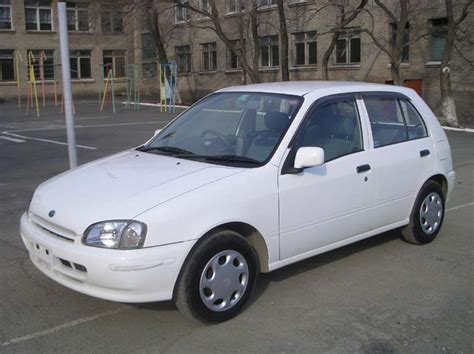 Toyota Car 1998 1998 Toyota Starlet Pictures 1300cc Gasoline Automatic