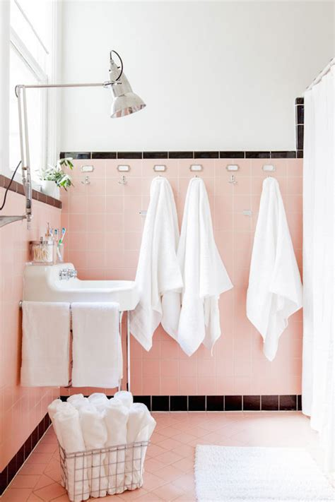 retro pink bathroom spectacularly pink bathrooms that bring retro style back
