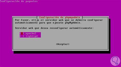 tutorial php gettext c 243 mo instalar phpmyadmin en ubuntu 16 04 solvetic