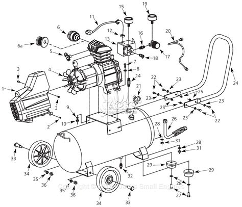 cbell hausfeld hx4001 parts diagram for air compressor parts
