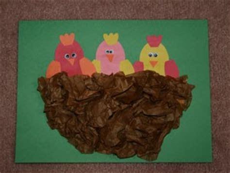 spring birds and nest paper plate craft   preschool crafts