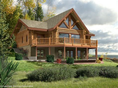 astoria log home design by the log connection silver star log home design by the log connection