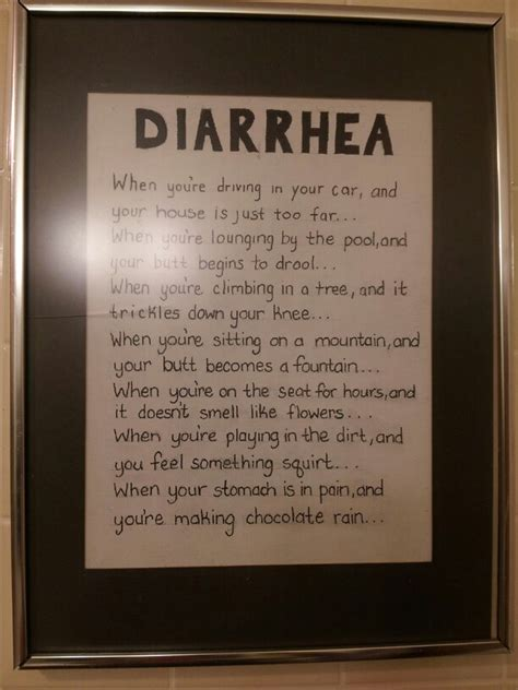 funny bathroom songs singing the diarrhea song to my daughters one day just ya