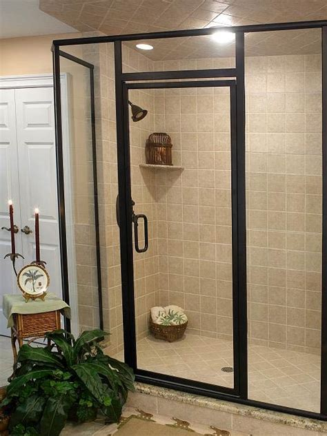 Frame Shower Door Shower Doors And Custom Bath Enclosures Chuchill Glass Mirror