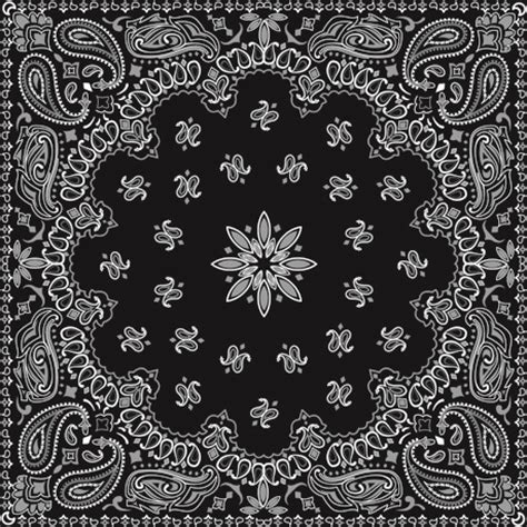 bandana pattern font black with white bandana patterns design vector free