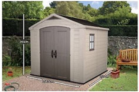 keter 8x8 plastic shed bnib in poole dorset gumtree