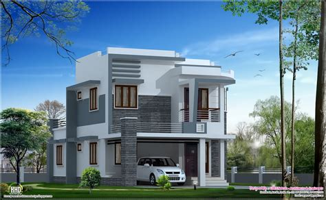 modern home design beautiful 1650 sq modern home design kerala home