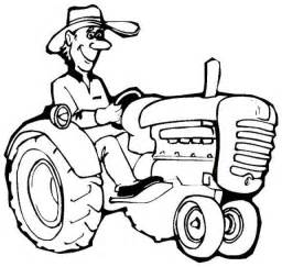 Farmer Coloring Pagejpg sketch template