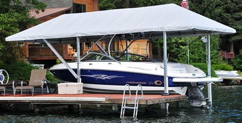 floating boat dock canopy diy boat dock canopy diy do it your self