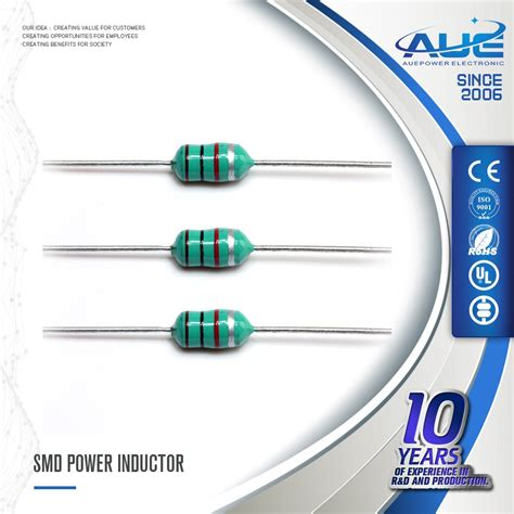 axial leaded power inductor 1uh 47uh 68uh 1000uh commercial axial leaded inductor buy through inductor leaded