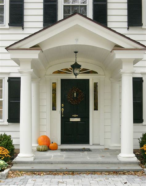 Portico Designs For Front Door Front Porch