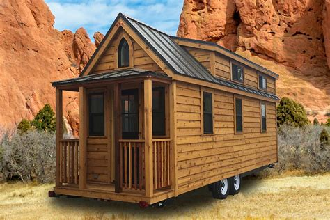 log siding tiny house on wheels for sale in new york tumbleweed tiny houses