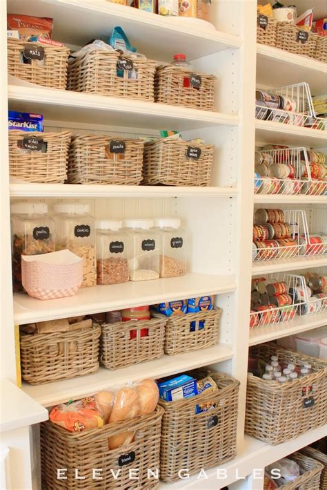 Pantry Organization Baskets by Pin By Eleven Gables On Organize