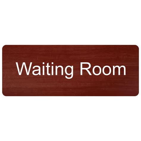 waiting room signs waiting room engraved sign egre 640 whtoncnmn wayfinding room name