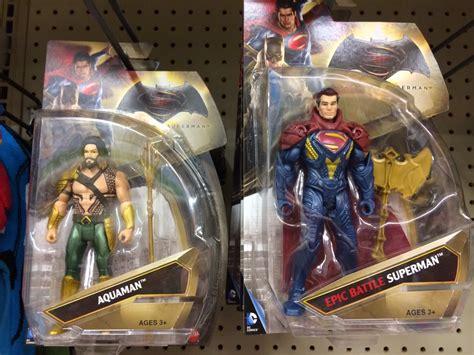 Miniatur Aquaman 006 Batman Vs Superman Of Justice Dc Comics some batman v superman figures begin hitting stores the