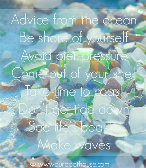 coastal quote beach living inspiration advice ocean